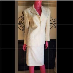 Vintage Gianni Versace beautiful skirt suit 8 6 42